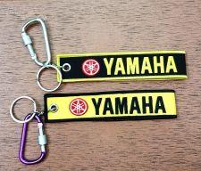 Buy YAMAHA Keychain Keyring Key Holder Embroidered Fabric Strap Tag Motorcycle,GIFT