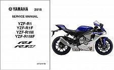 Buy 2015-2016 Yamaha YZF-R1 ( R1 / R1M ) Service Manual on a CD