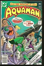 Buy AQUAMAN #57 DC Comics 1977 Bronze Age 1st print and series VF- or better