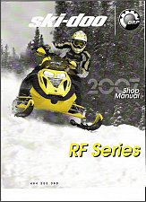 Buy 2007 Ski-Doo RF ( Expedition Freestyle Tundra ) Snowmobiles Service Manual CD