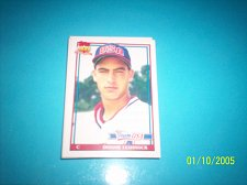 Buy 1991 Topps Traded rookie card team usa donnie leshnock #72T mint free ship