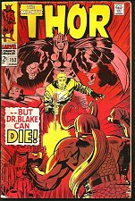 Buy THOR #153 JACK KIRBY STAN LEE Marvel Comics 1968