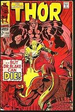 Buy THOR #153 JACK KIRBY STAN LEE Marvel Comics 1968