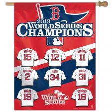 "Buy Boston Red Sox Official MLB 27"" x 37"" Banner Flag BoSox by Wincraft (400)"