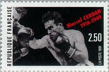 Buy France 1v mnh 2007 Mi2864 stamp Marcel Cerdan 1916- 1949