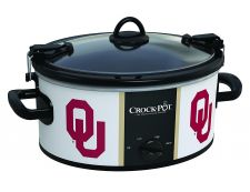 Buy NCAA Oklahoma Sooners Crock Pot Cook And Carry Slow Cooker 6 Quart