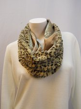 Buy Womens Infinity Scarf Size 34X14 FADED GLORY Animal Faux Fur All Occasion Lined