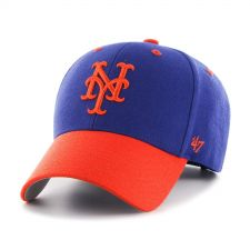 Buy New York Mets MLB Audible Two Tone MVP Hat by '47