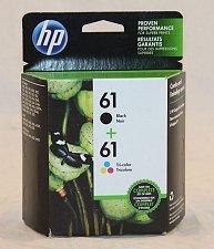 Buy 61 HP BLACK & COLOR ink - DeskJet 3521 3512 3511 3510 3050 3054 3000 2546 2542