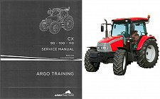 Buy McCormick CX90 CX100 CX110 Tractor Service Manual on a CD