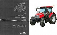 Buy McCormick CX90 CX100 CX110 Tractor Service Repair Manual CD ---- CX 90 100 110