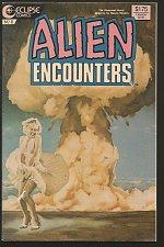 Buy MARILYN MONROE in Alien Encounters # 8 Eclipse Comics 1986 Ec-istic
