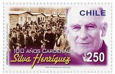 Buy Chile 1v mnh stamp Mi2181 Cardinal Siva Henríquez 100 Years