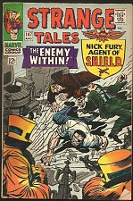 Buy Strange Tales #147 DR. STRANGE / SHIELD Everett, Kirby/Heck1966 Fine+/VF-