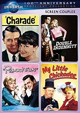 Buy 4movie DVD Double Indemnity CHARADE Cary GRANT Audrey HEPBURN Barbara STANWYCK