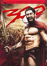 Buy 300 DVD FS Gerard BUTLER Rodrigo SANTORO Xerxes Persia Sparta Thermopylae battle