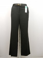 Buy SIZE 18 Women Dress Pants CHARTER CLUB Solid Black Tummy Slimming Classic Fit