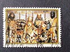 Buy Spain 1 v used stamp on Stamp Day Biblical Accounts | Paintings Mi:ES 2567
