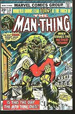 Buy The MANTHING #22 Marvel Comics 1976 -- Howard The Duck early appearance, Gerber