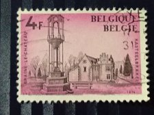 Buy Belgium 1974 used 1v stamp Sg:BE 2355,Historical buildings