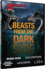 Buy 5movie 7hrs DVD She Creature,Day World Ended,The Cave,Dragon Wars,Jennifer LOPEZ