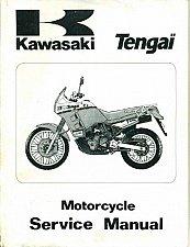 Buy 1989-1990 Kawasaki Tengai Service Repair Workshop Manual CD - KLR 650 500 KL650 KL500