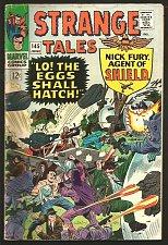 Buy Strange Tales #145 DR. STRANGE Steve Ditko SHIELD Kirby/Heck1966