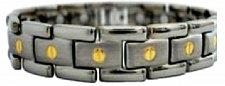 Buy ELECTRIFIED FEEL BETTER EJWJ-456SG Titanium Bracelet with 15 Neodymium Magnets