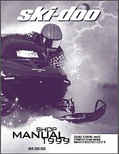 Buy 1999 Ski-Doo Grand Touring / Formula III / Mach 1 Service Manual on a CD