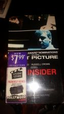 Buy The Insider VHS 1992 Al Pacino Russell Crowe Hollywood video sealed!