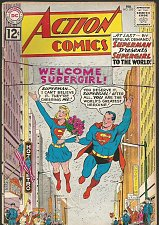 Buy Action Comics #285 - Supergirl's existence revealed to world SILVER AGE SUPERMAN