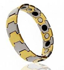 Buy ELECTRIFIED FEEL BETTER EJCN-002B Tungsten Bracelet with 17 Health Stones