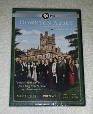 Buy DOWNTON ABBEY fourth SEASON 4th DVD 3Disc set Elizabeth MCGOVERN Maggie SMITH