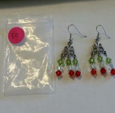 Buy 4 pair of Fashion Pierced Earrings (261)