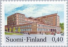 Buy Finland stamp 1 v MNH Post Office in Tampere