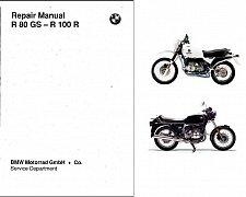 Buy 1980-1996 BMW R 80 GS / R 100 R Service Manual on a CD