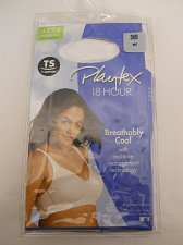 Buy Womens Bra 36B Playtex 18 Hour Solid White Breathably Cool Moisture Management