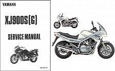 Buy 94-04 Yamaha XJ900S Diversion Service Repair Manual CD . XJ 900 S XJ900 900S