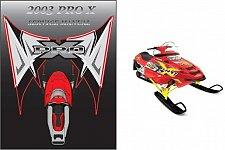 Buy 2003 Polaris ProX 440 600 700 800 Snowmobiles Service Repair Manual CD -- Pro X