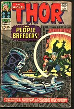 Buy THOR #134 Stan Lee Jack Kirby Marvel Intro HIGH EVOLUTIONARY Man Beast 1966