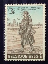 Buy Belgium used stamp 1968 Day of the stamp