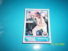 Buy 1988 Score Young Superstars series 11 baseball GERALD YOUNG #11 FREE SHIP