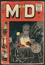 Buy MD #5 EC COMICS 1950's Golden Age Comic Book