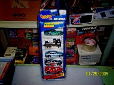 Buy 1998 Hot Wheels Powershift Garage Playset Gift Pack 5 Cars Mattel Wheels