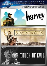 Buy 3movie DVD SPARTACUS James STEWART Kirk DOUGLAS Jean SIMMONS Janet LEIGH,HARVEY