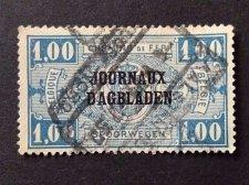 Buy Belgique / Belgie 1 v Used Stamp Railroad stamps - Spoorwegen
