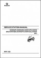 Buy Piaggio MP3 125 Service Repair Workshop & Parts Manual on a CD