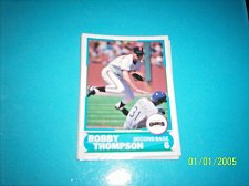 Buy 1988 Score Young Superstars series 1 baseball ROBBY THOMPSON #28 FREE SHIP