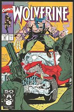 Buy WOLVERINE #47 Marvel Comics 1991 DIRECT 1st Long Series Hama