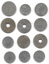 Buy Lot Of 12 Middle Eastern and African Coins All Between 1909-1929 Free Shipping